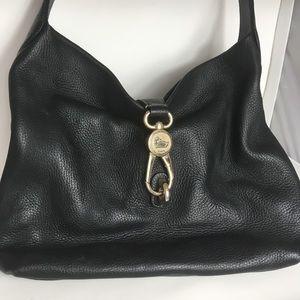 Dooney & Bourke 1975 Black Leather Handbag